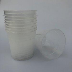 10 x transparante pot 12 cm